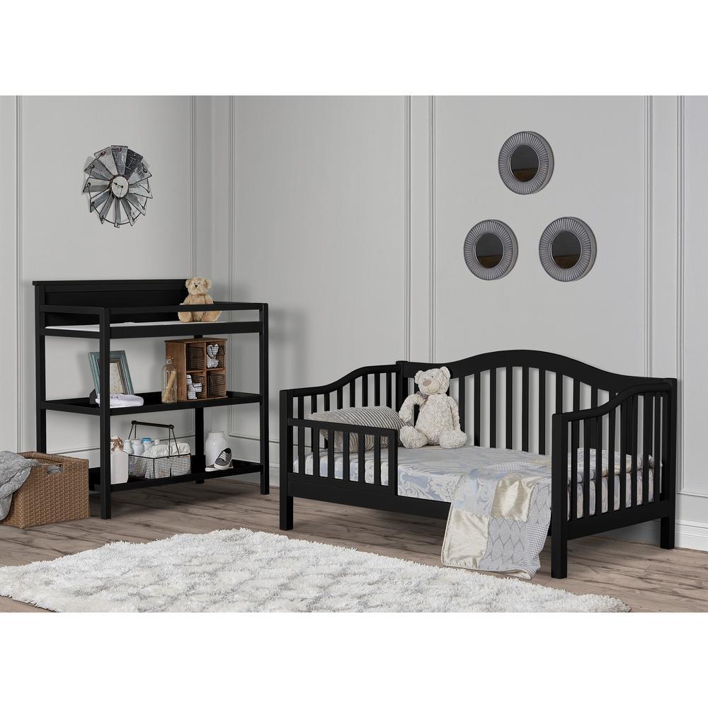 Austin Black Toddler Adjustable Day Bed