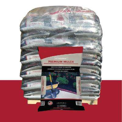2 cu. ft. Premium Quality Black Mulch Pallet
