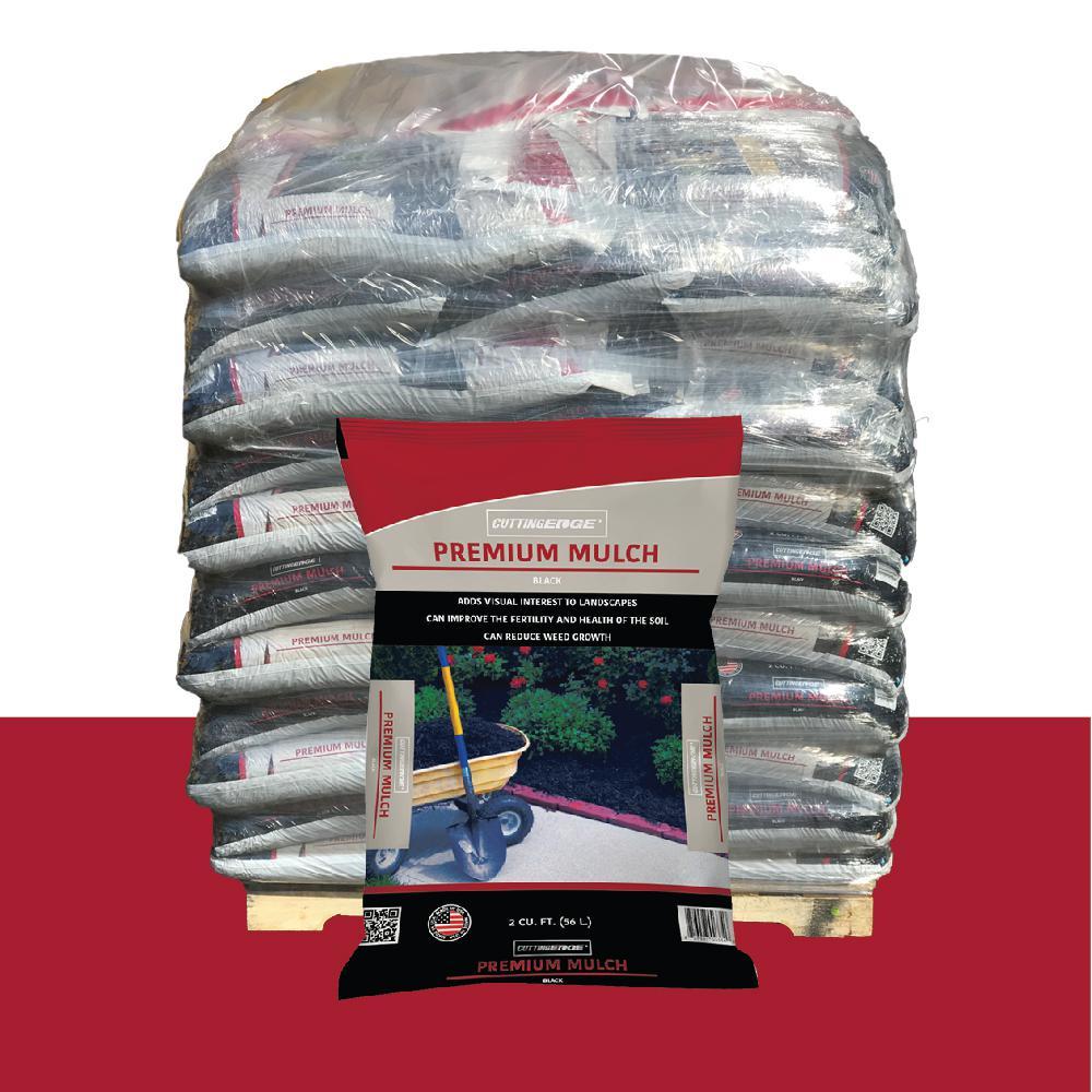 Premium Quality Black Mulch Pallet 300302pt The Home Depot