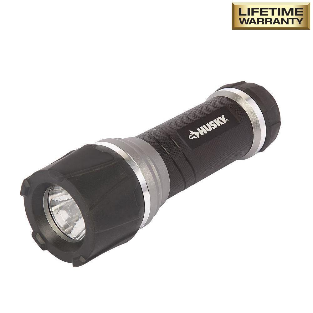 165 Lumen LED Virtually Unbreakable Aluminum Flashlight
