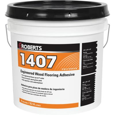 1407 4 Gal. Engineered Wood Flooring Adhesive