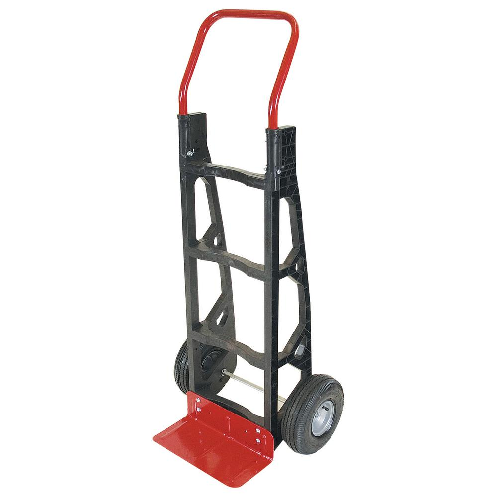 Milwaukee 600 Lb Capacity Hand Truck 60610 The Home Depot