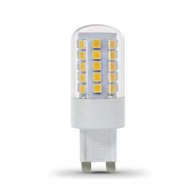 40-Watt Equivalent Bright White (3000K) T4 G9 Bi-Pin Base Decorative LED Light Bulb