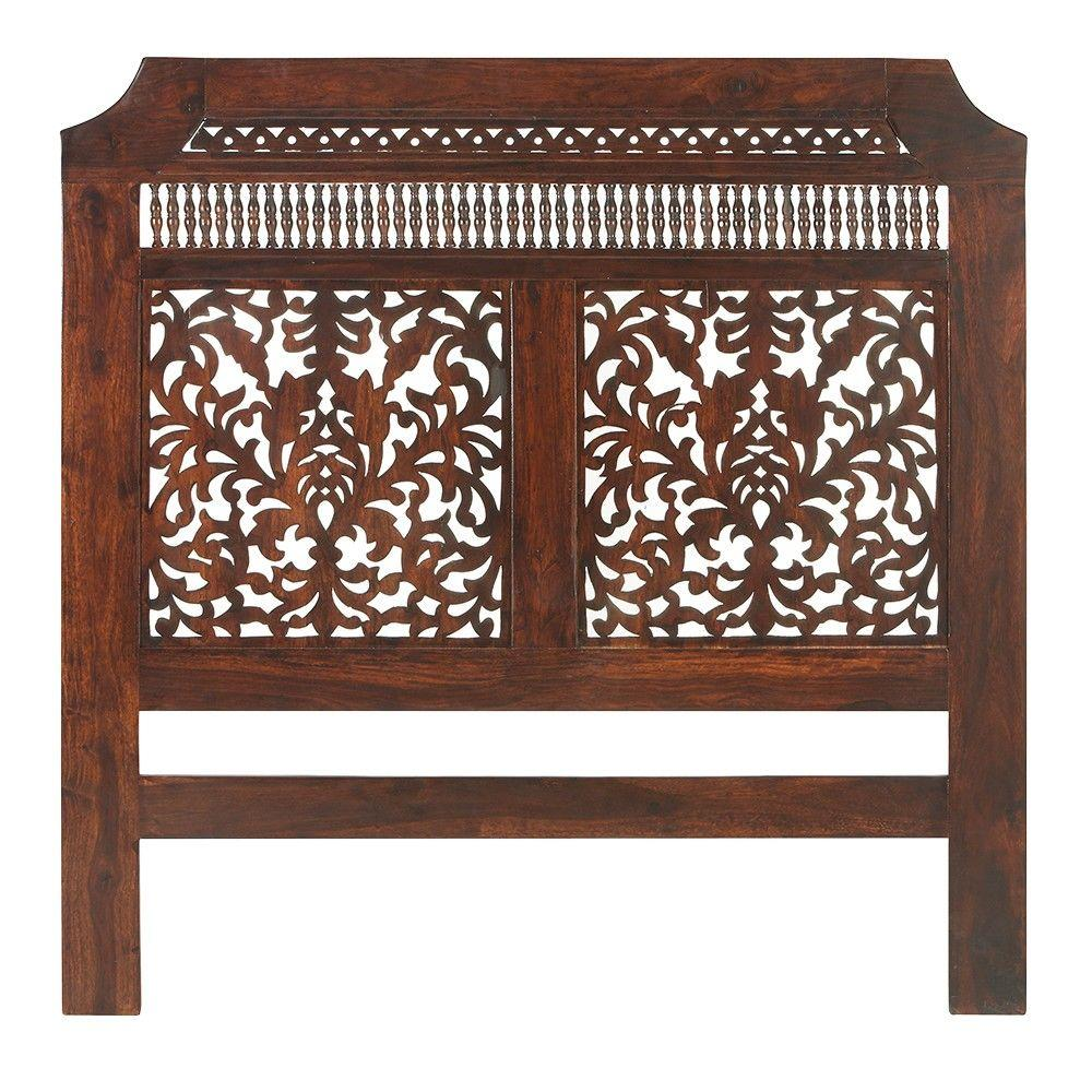 Attrayant Home Decorators Collection Maharaja Walnut Queen Headboard