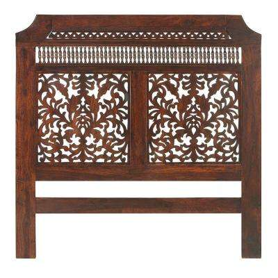 Maharaja Walnut Queen Headboard