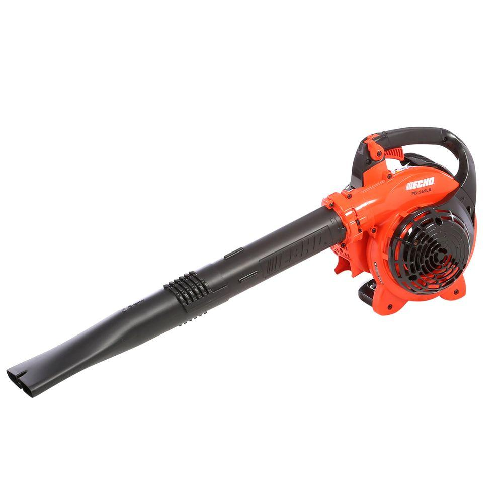 echo 191 mph 354 cfm gas 2 stroke cycle low noise handheld leaf blower pb 255ln the. Black Bedroom Furniture Sets. Home Design Ideas