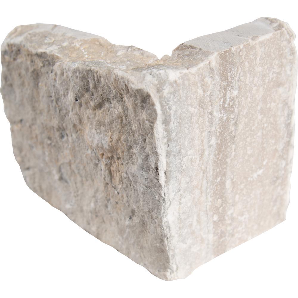 Temple Gray Natural Limestone Wall Loose Veneer (40 lin. ft. / pallet)
