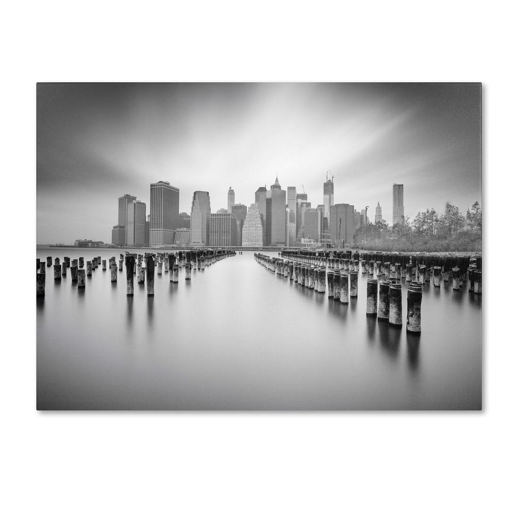 null 14 in. x 19 in. NYC 1 Canvas Art
