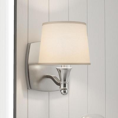 Towne 1-Light Brushed Nickel Sconce