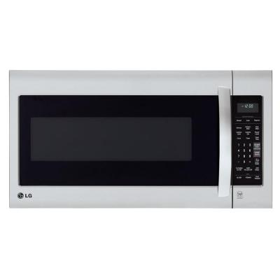 LG 2.0 cu. ft. Over the Range Microwave in Stainless Steel with EasyClean and Sensor Cook