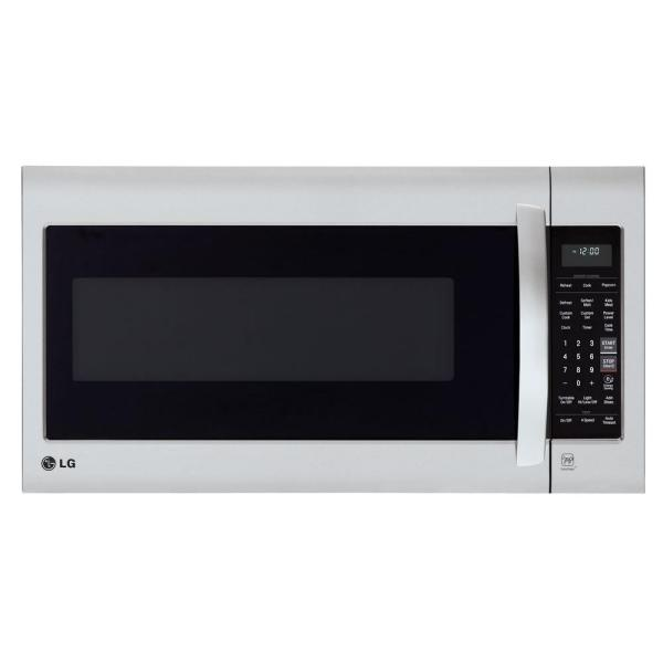 LMV2031ST - Microwave oven - built-in - 2 cu. ft - 1000 W - stainless steel with built-in exhaust system