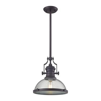 Chadwick 1-Light Oil-Rubbed Bronze Pendant