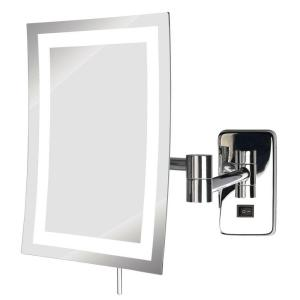 Sharper Image 815 In X 13 In Led Lighted Tri View Makeup Mirror