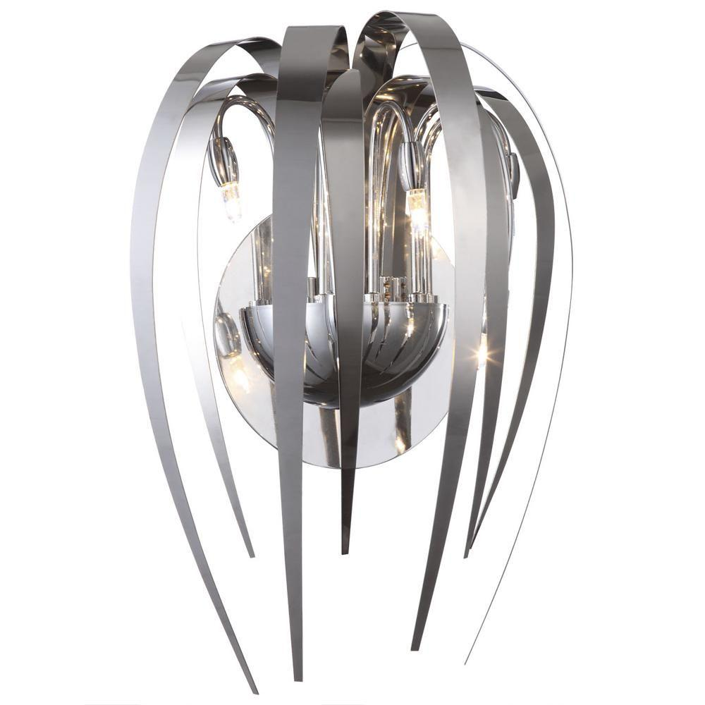 Filament Design Negron 5-Light Chrome Halogen Sconce