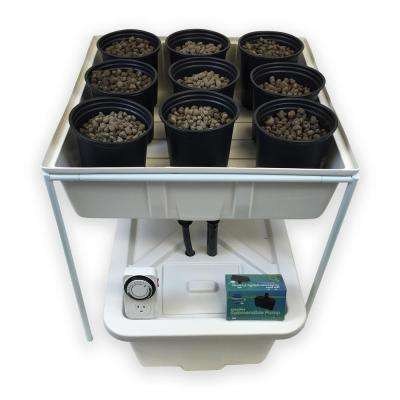 Complete 2 ft. x 2 ft. Ebb and Flow Hydroponics System
