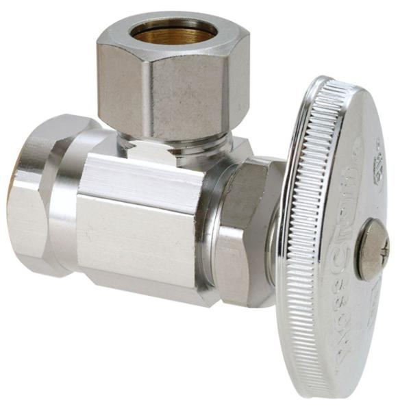 Ice Maker Ball Valve By Plumb USA 1//2 FIP Inlet x 1//4 OD Outlet