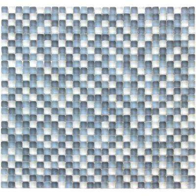 Atlantis Majorca Multi 11-3/4 in. x 11-3/4 in. x 6.35 mm Frosted Glass Mosaic Wall Tile (9.58 sq. ft. / case)