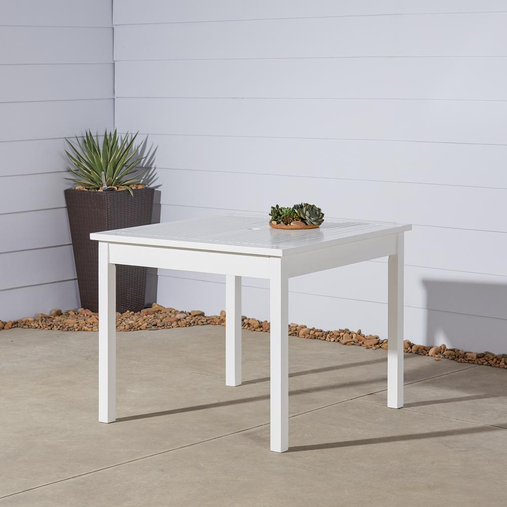Vifah Bradley Square Wood Outdoor Dining Table
