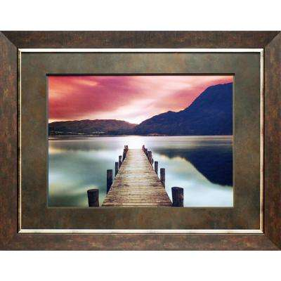 37 in. x 29 in. Ullswater Printed Framed Wall Art