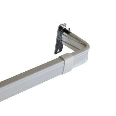 18 in. - 28 in. Lockseam 2 in. Clearance Curtain Rod