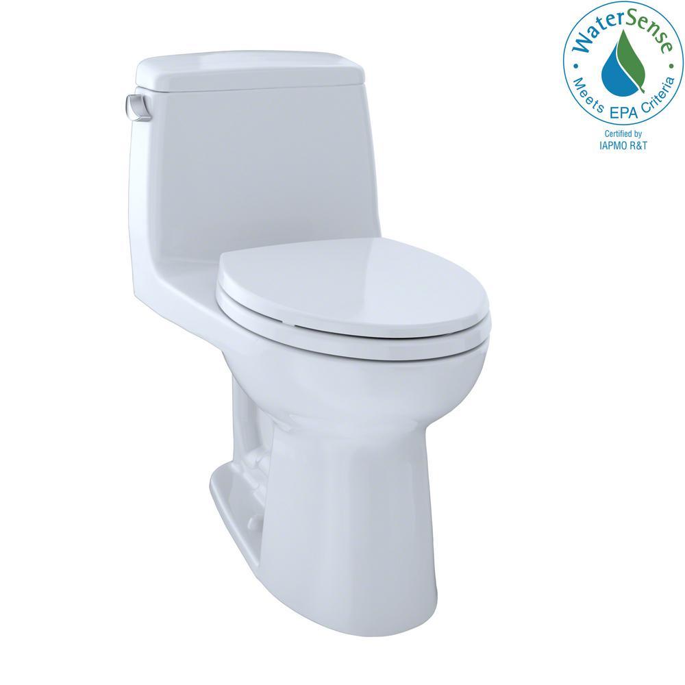 TOTO Eco UltraMax ADA Compliant 1-Piece 1.28 GPF Single Flush ...