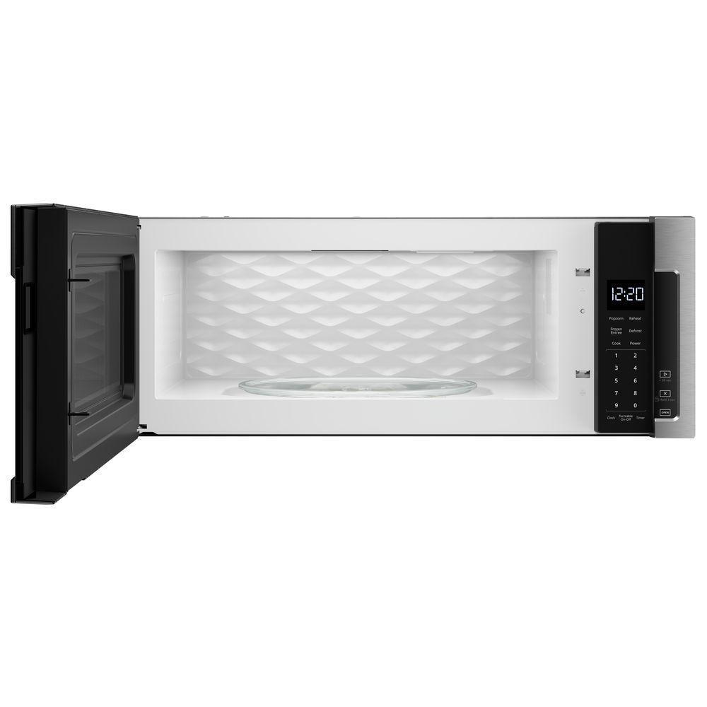 11 Whirlpool 1 Cu Ft Over The Range Low Profile Microwave Hood