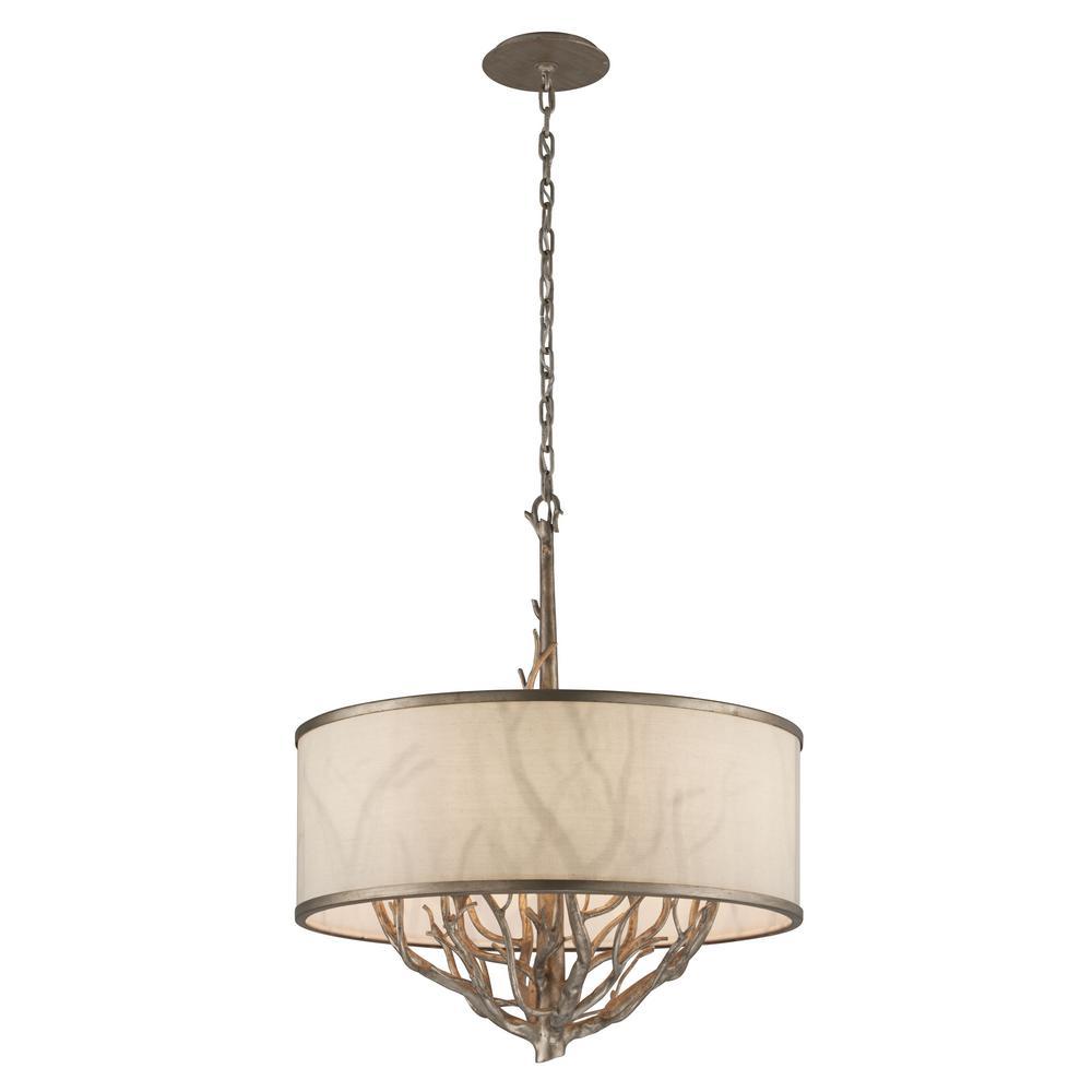 Whitman 6-Light Vienna Bronze Pendant