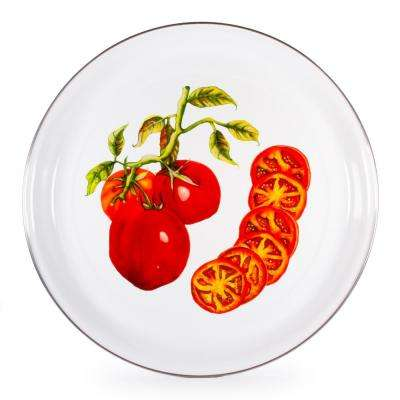 Tomatoes 15.5 in. Enamelware Serving Tray