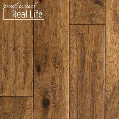 Hickory Solid Hardwood Hardwood Flooring The Home Depot