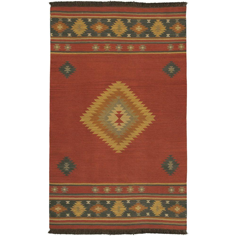 Megan Red Clay 2 ft. 6 in. x 8 ft. Rug