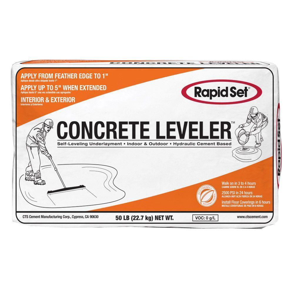 Cement Leveling Products : Rapid set lb cts concrete leveler the home