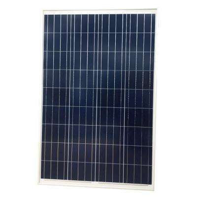 100-Watt Polycrystalline Solar Panel for 12-Volt Charging