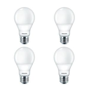 60-Watt Equivalent A19 Dimmable Warm Glow Dimming Effect Energy Saving LED Light Bulb in Soft White (2700K) (8-Pack)