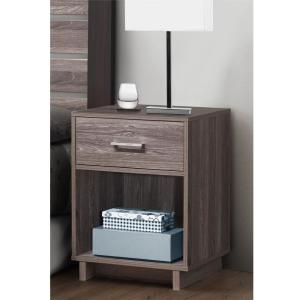 Ameriwood Colebrook Rustic Medium Oak Nightstand by Ameriwood