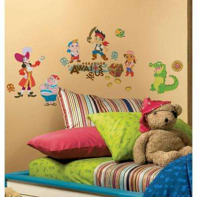 Jake and the Neverland Pirates Peel and Stick Wall Decors