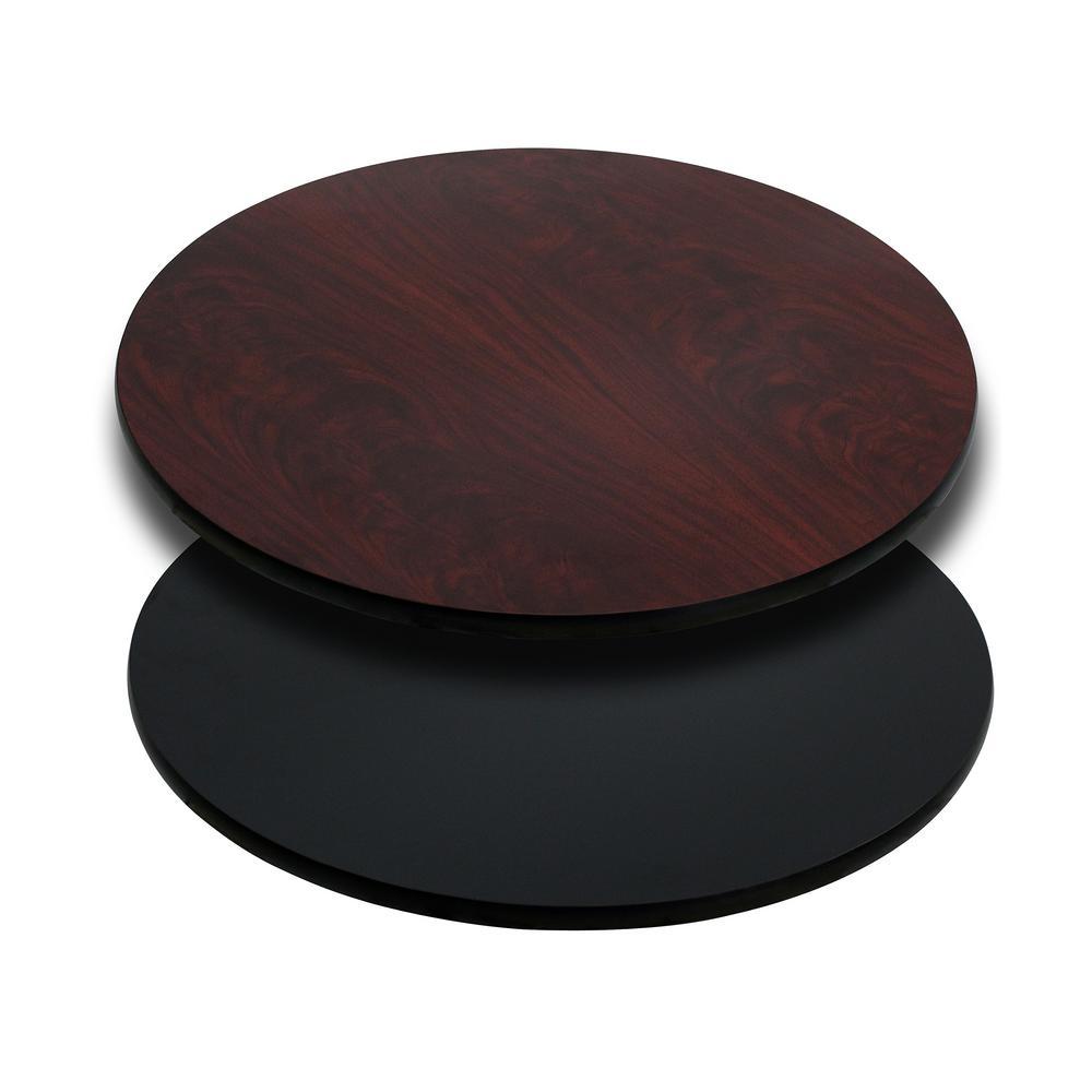 Mahogany Round Table Top