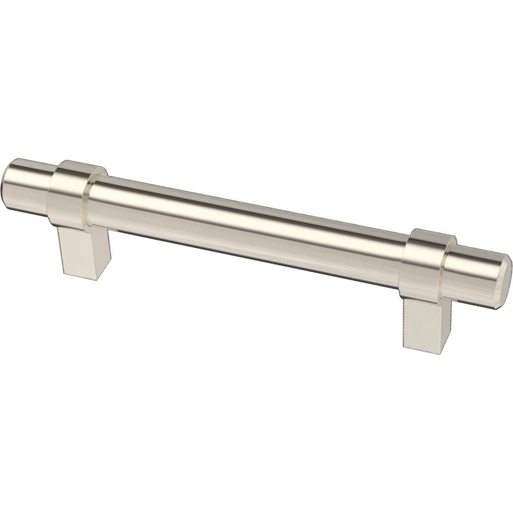 Liberty Liberty Essentials 3-3/4 in. (96mm) Center-to-Center Wrapped Nickel Plated Bar Drawer Pull (12-Pack)