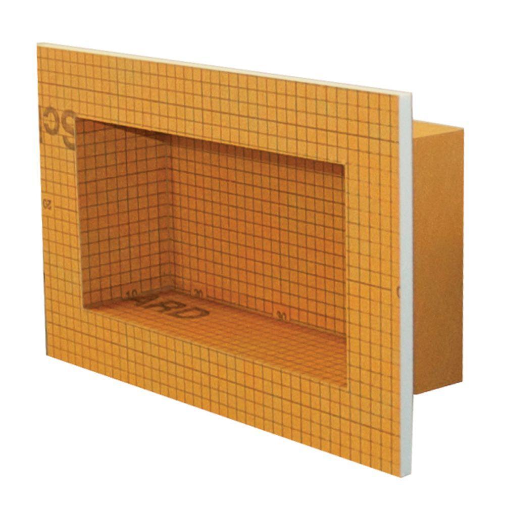 Kerdi-Board-SN 12 in. x 6 in. Shower Niche