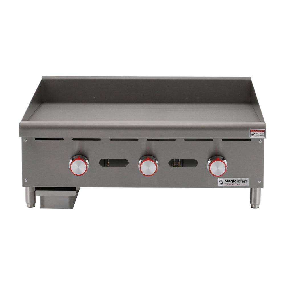Magic Chef Commercial 36 in. Thermostatic Countertop Griddle
