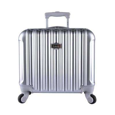 17 in. Rolling Briefcase/Overnighter with Spinner Wheels and Metallic (Kensie)