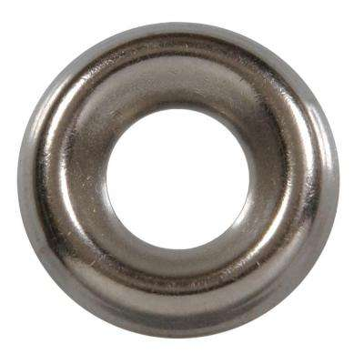 #8 Stainless Steel Finish Washer (40-Pack)