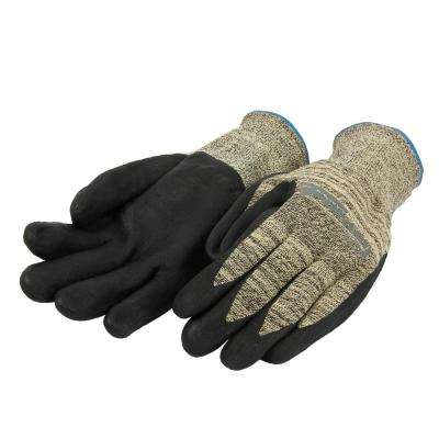 Size L/XL Nitrile Coated Cut 3 Resistant Gloves