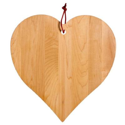 Maple Heart Shaped Board