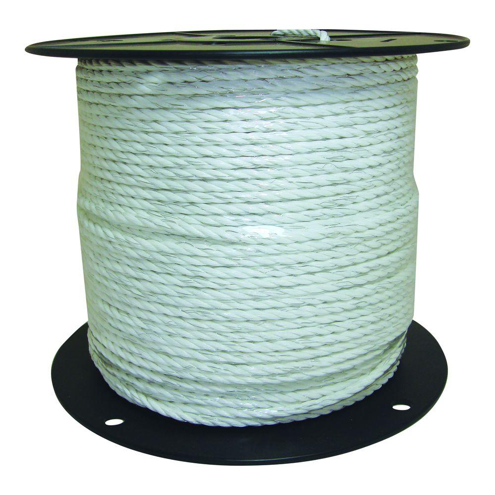 Field Guardian 1/4 in. White Economy Polyrope