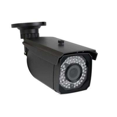 Wired Outdoor 5MP Bullet PoE IP Surveillance Security Camera 2.8 mm - 12 mm Varifocal Zoom Lens 150 ft. Night Vision