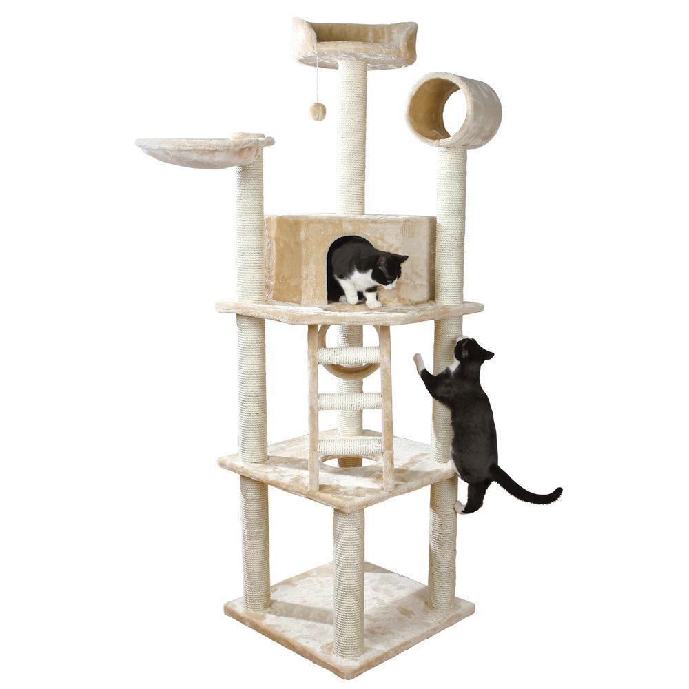 Beige Montilla Cat Playground
