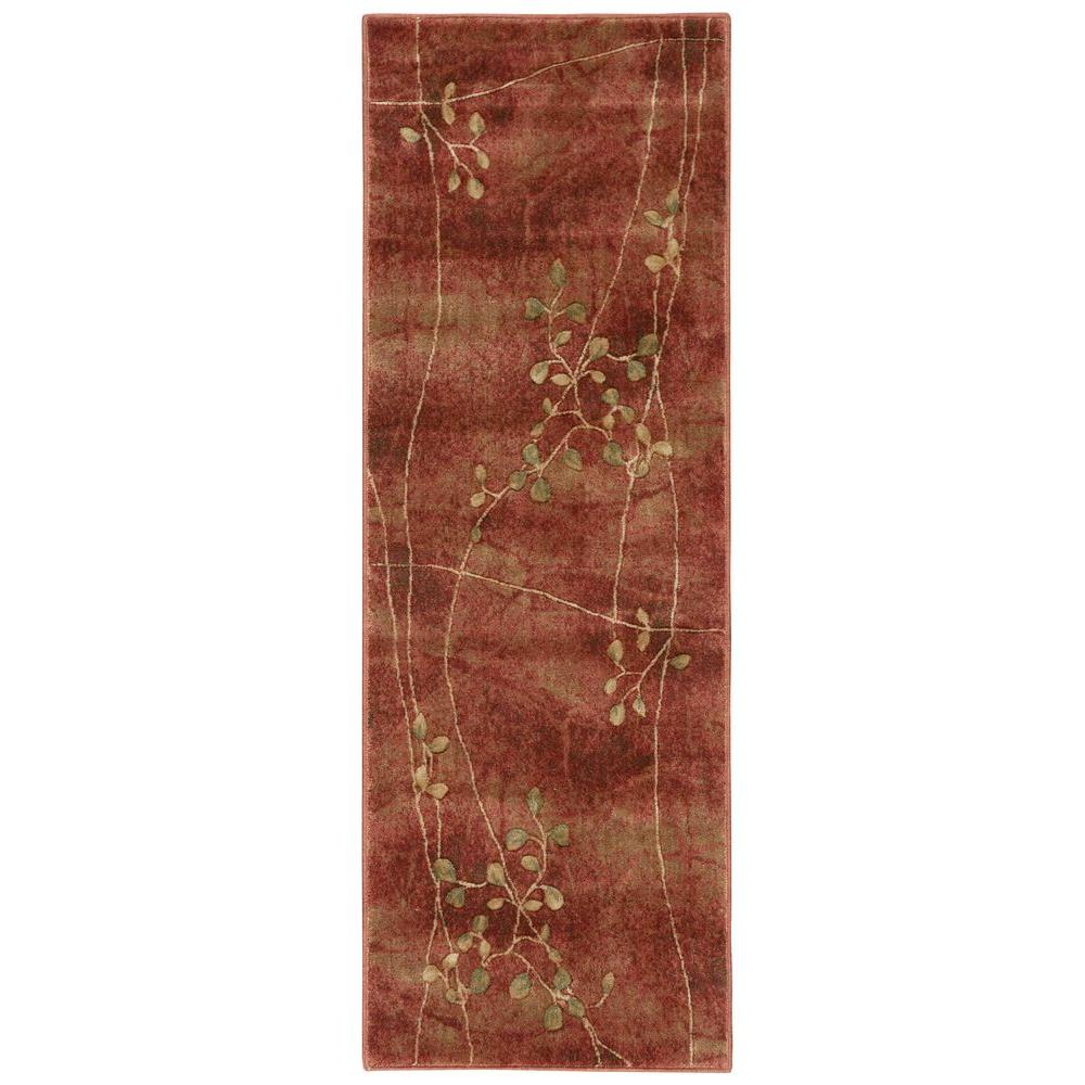 Painted Desert Flame 2 ft. 3 in. x 8 ft. Rug