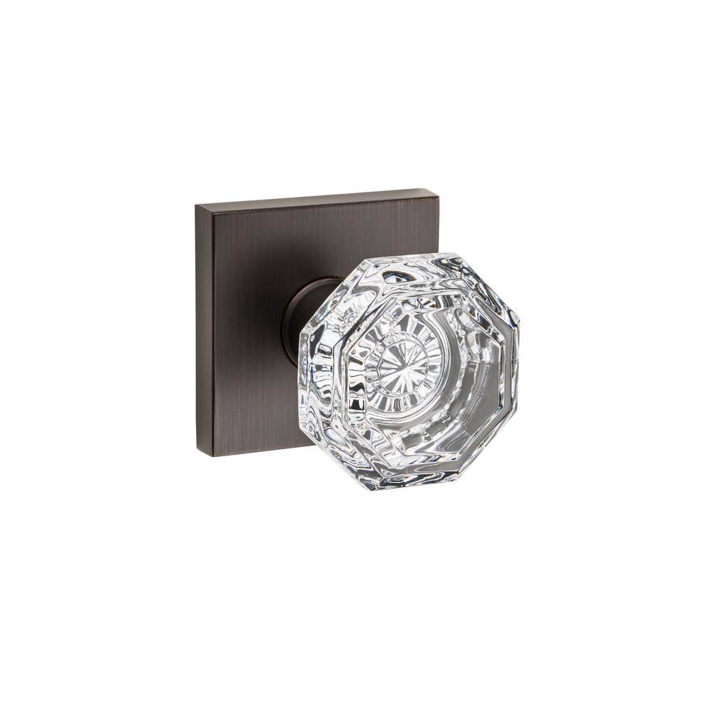 Crystal Reserve Venetian Bronze Full Dummy Door Knob