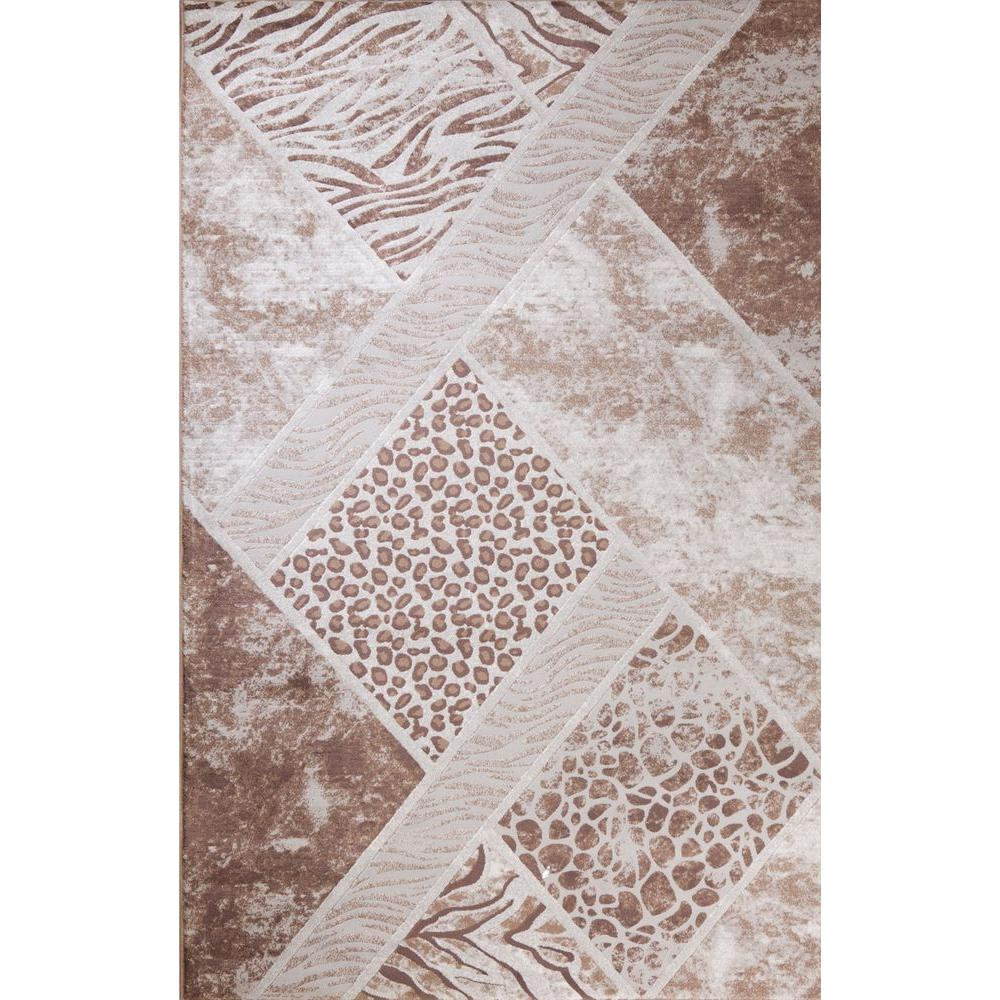 Matrix Collection Lynx Beige 6 ft. 7 in. x 9 ft.