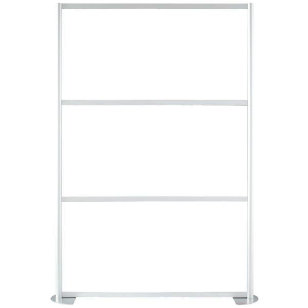 51-1/8 in. x 75-3/8 in. uDivide White 3-Panel Room Divider